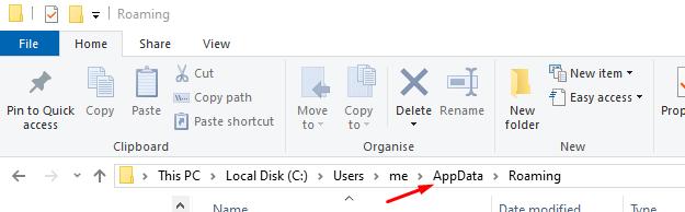 AppData Folder